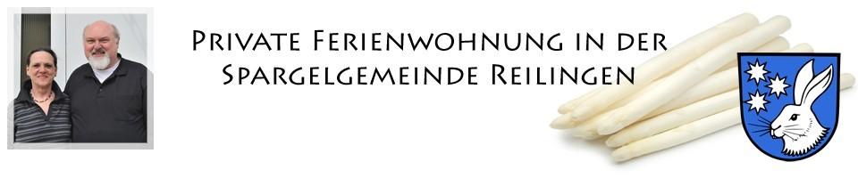 Ferienwohnung Spargelgemeinde Reilingen in der Kurpfalz